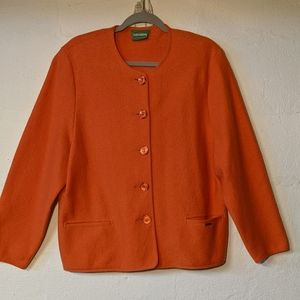 Sold 🎉Geiger of Austria new wool coat 50/XXL